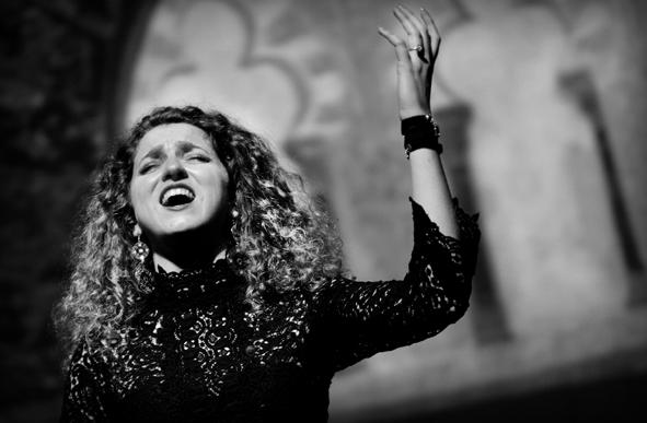 Diana SALICETI en concert à l'Aghja Novembre 2017