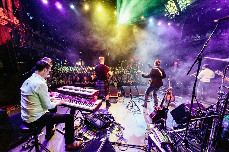 Skerryvore en concert a l'Aghja mai 2018