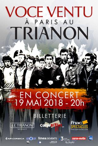 Voce Ventu in cuncertu au Trianon, Paris