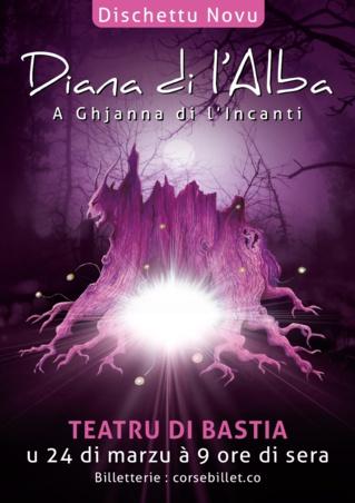 Diana di l'Alba en concert à BASTIA Mars 2018