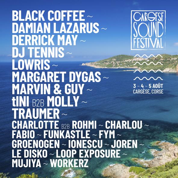 Cargèse Sound Festival Aout 2018