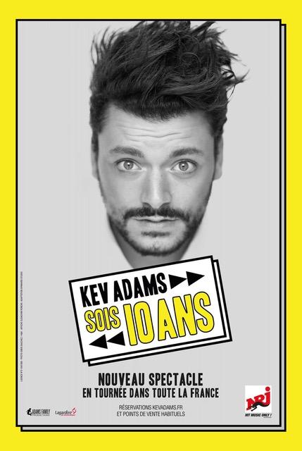 """Kev ADAMS dans """" Sois 10 Ans """""""