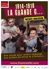 """Lecture-spectacle :  """"La Grande G..."""" Cie Théâtre Alibi"""
