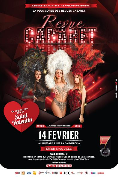 La Revue Cabaret - Spécial St Valentin fevrier 2019