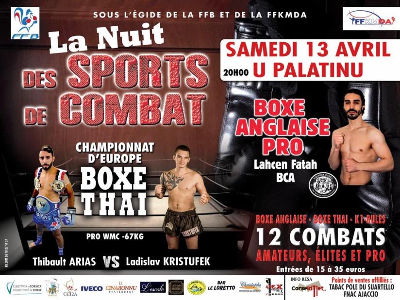 La Nuit des sports de combat Round V avril 2019