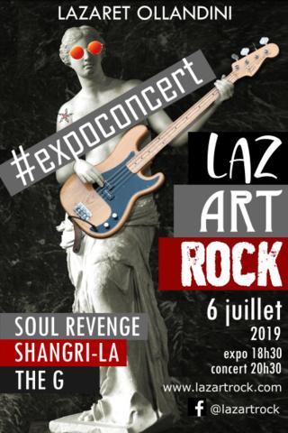 LazArtRock Juillet 2019