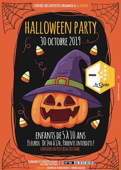 « Halloween Party » Mercredi 30 octobre