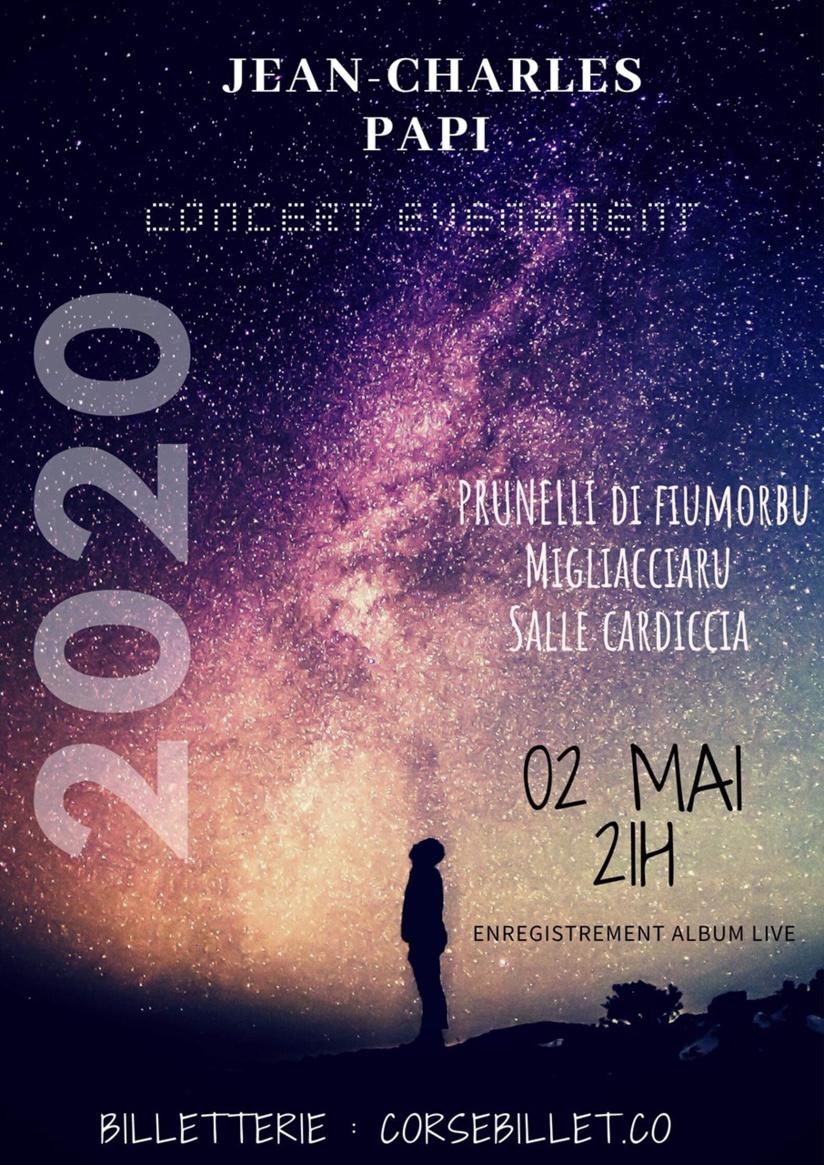 Jean Charles PAPI en concert  - MIGLACCIARU