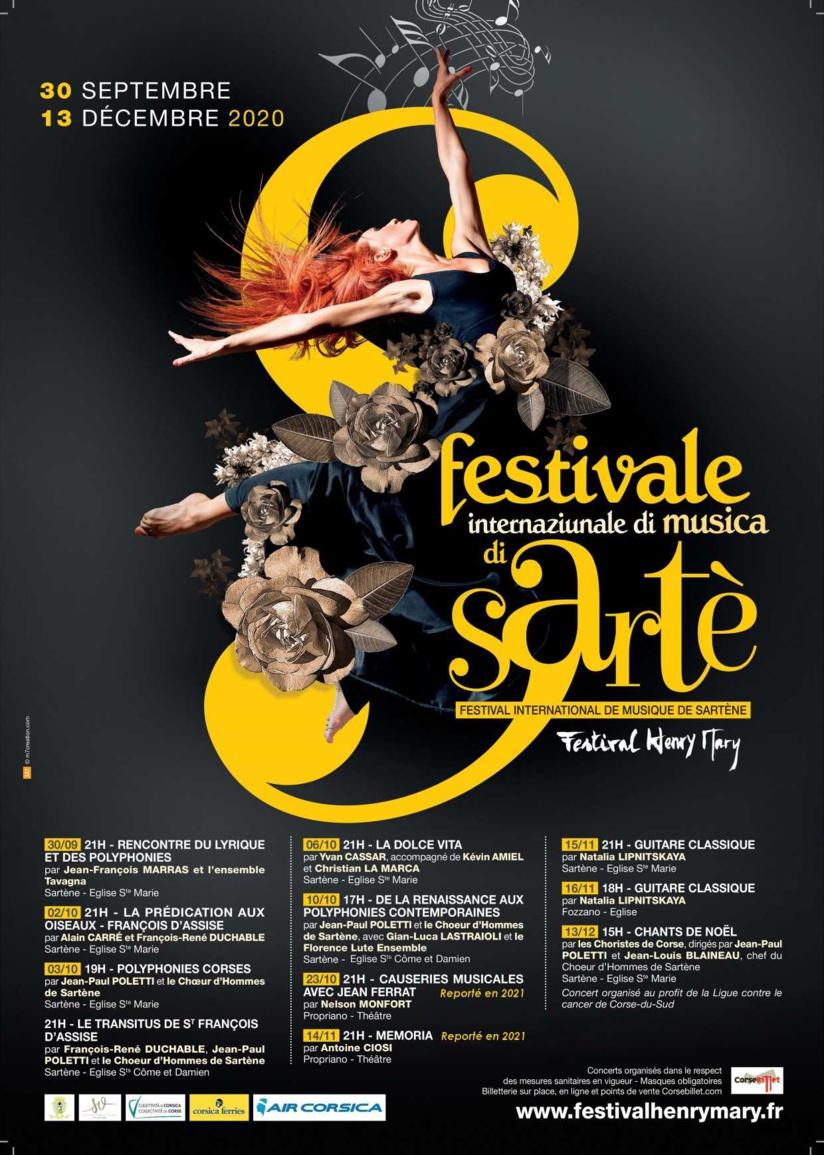 Festival Henry Mary 2020 - Novembre