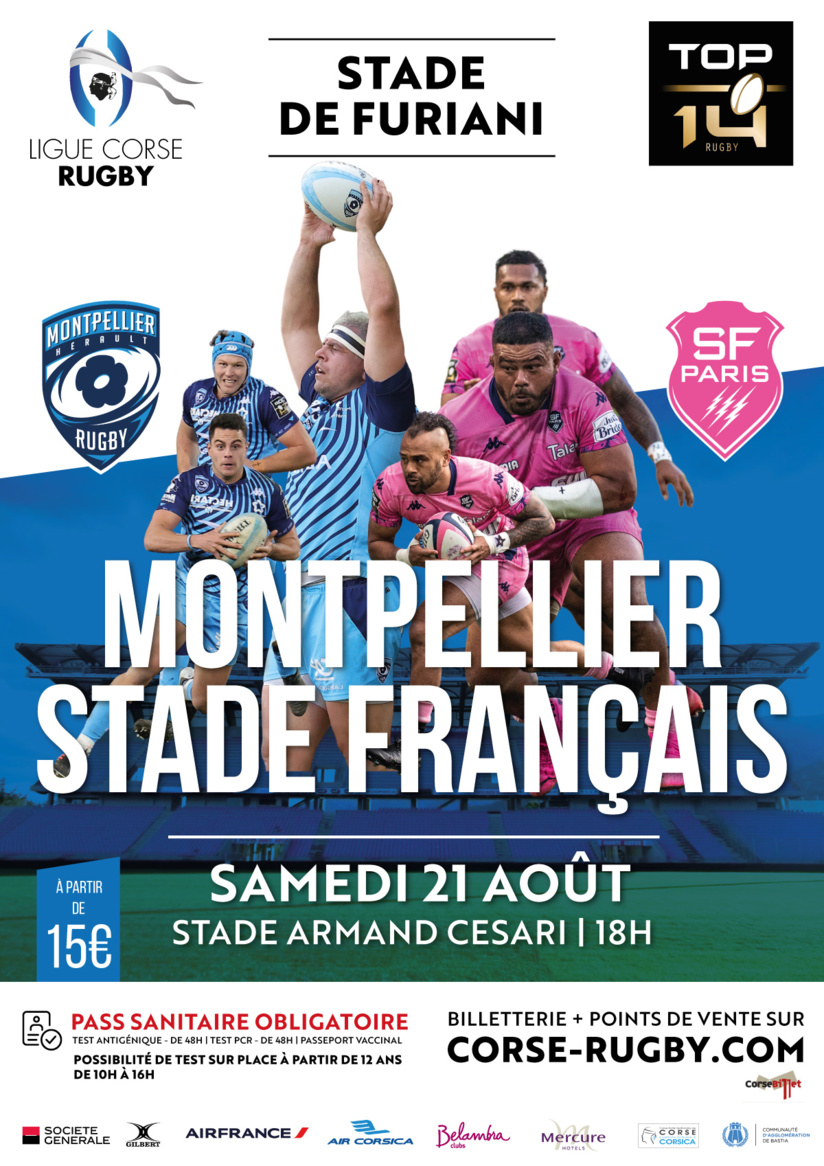 Rugby - Montpellier / Stade Français