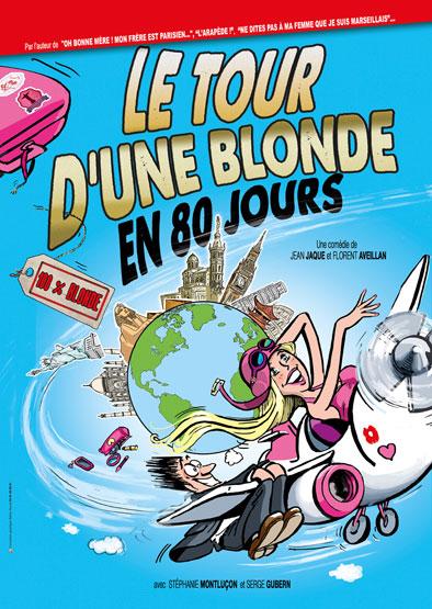 Le tour d'une blonde en 80 jours