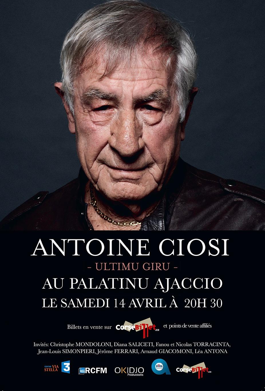 """Antoine CIOSI """"L'ultimu giru"""" Mai 2018"""