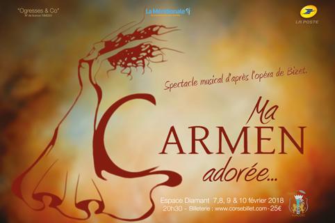 """ma Carmen Adorée"" fevrier 2018"