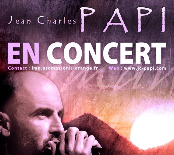 Jean Charles PAPI en concert Juillet 2018