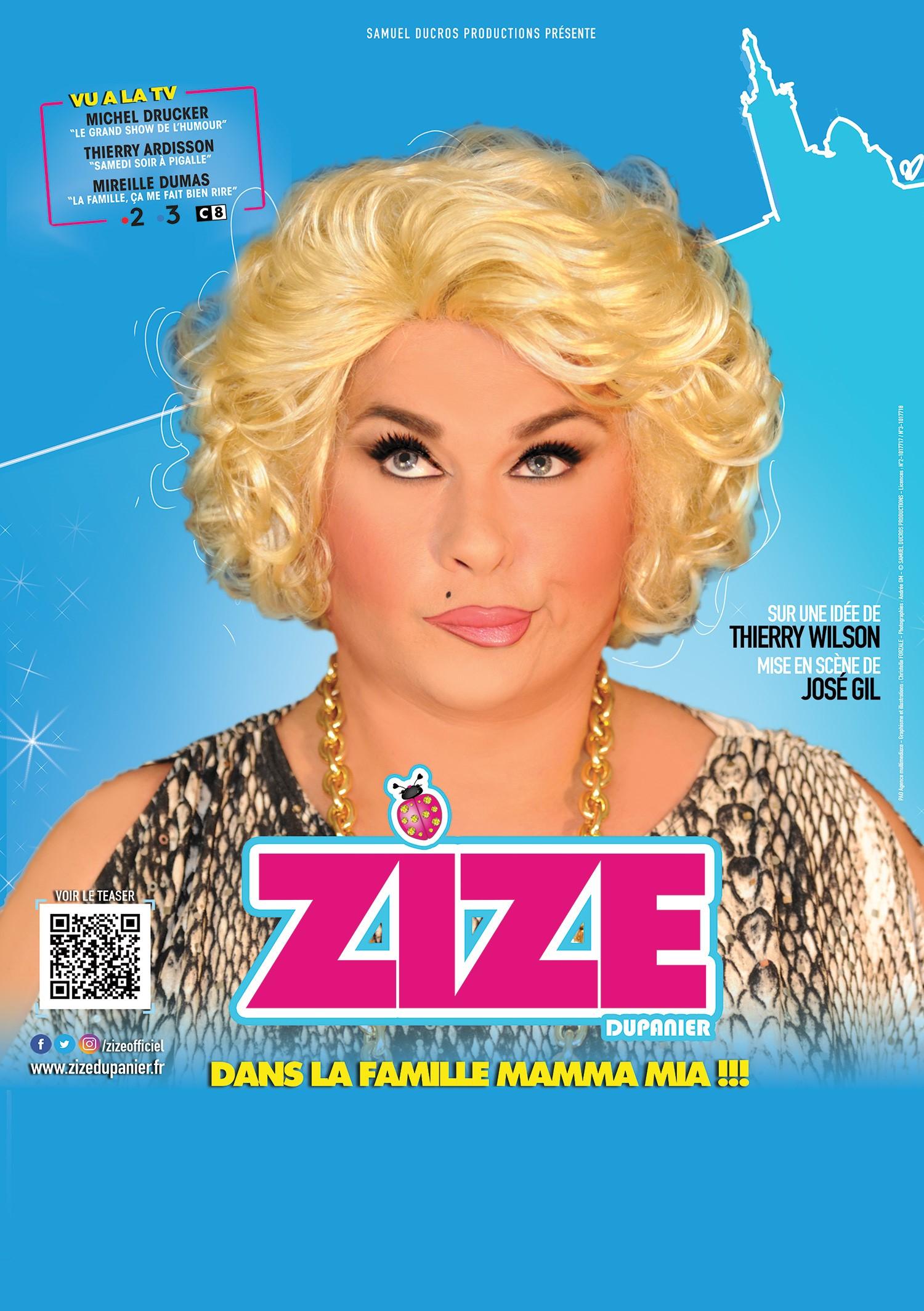 "ZIZE dans ""La famille, Mamma mia"""