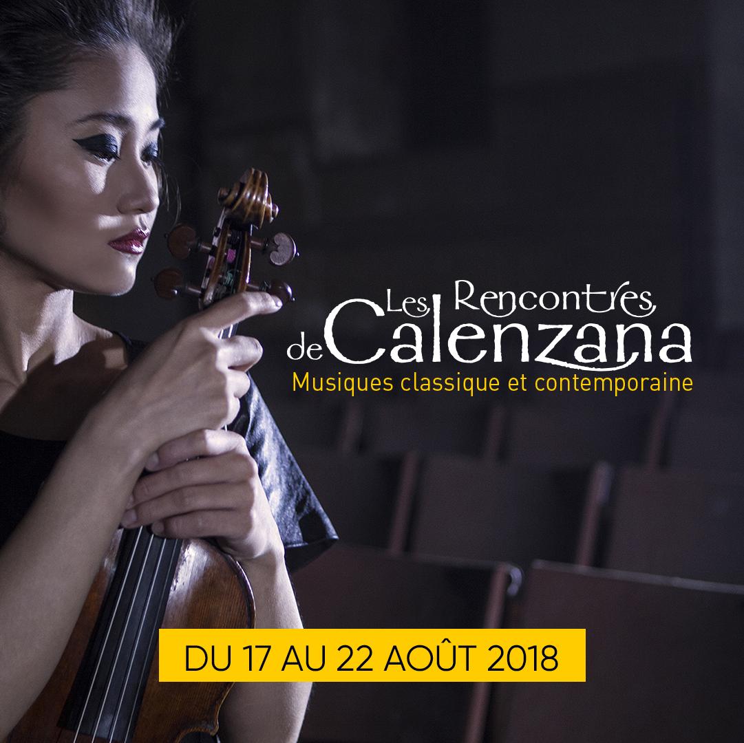 Les Rencontres Musicales de Calenzana aout 2018