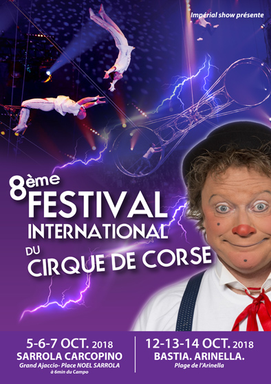 8° Festival international du Cirque de Corse