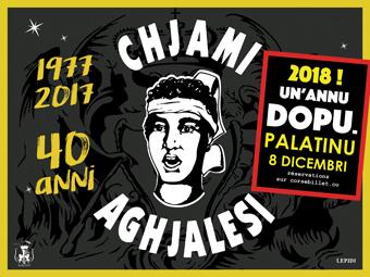 I Chjami Aghjalesi en concert decembre 2018