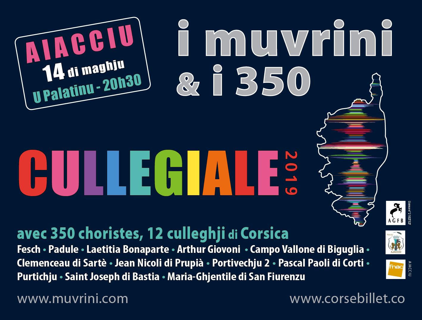 I Muvrini & I 350 Cullegiale mai 2019