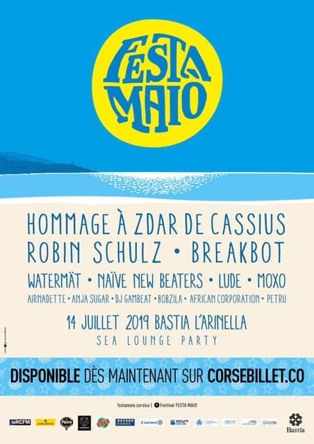 Fiesta MAIO - Sea lounge Party Juillet 2019