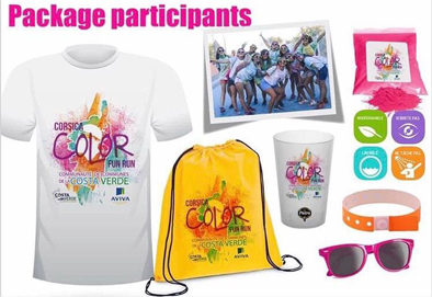 Corsica Color Fun Run