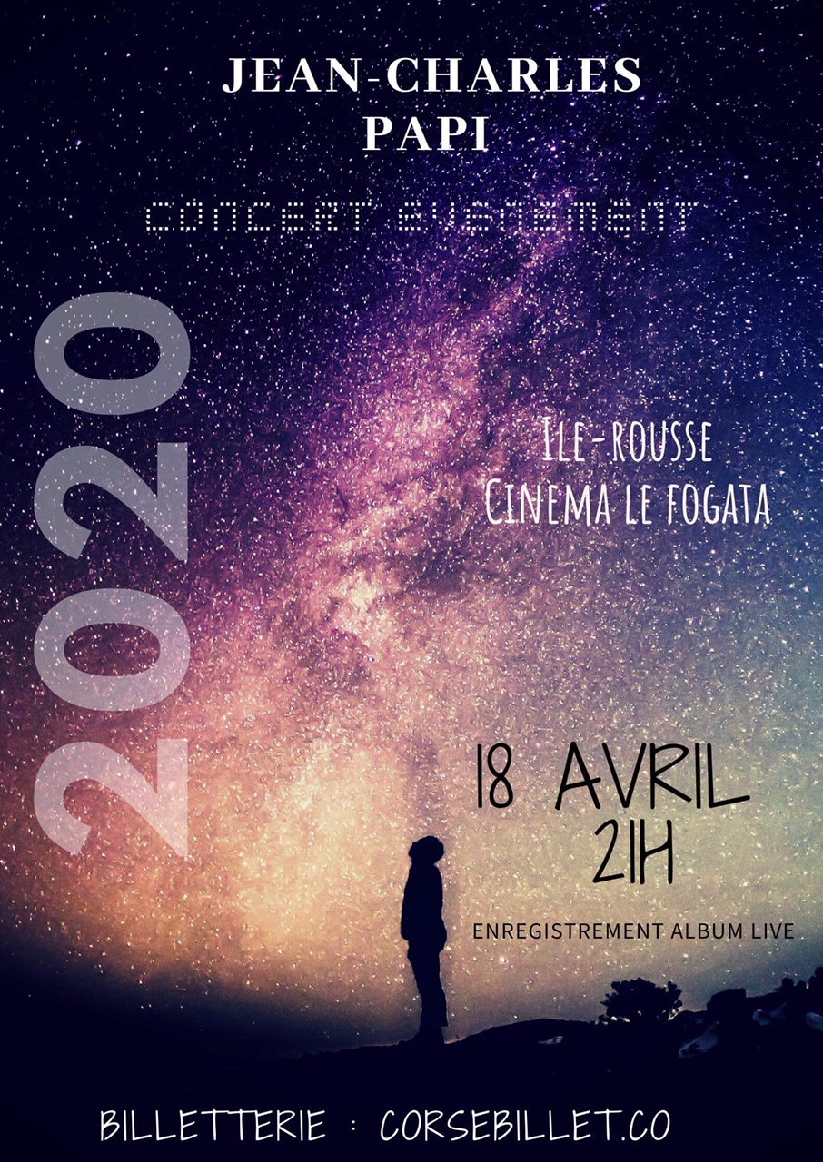 Jean Charles PAPI en concert  - Isula rossa