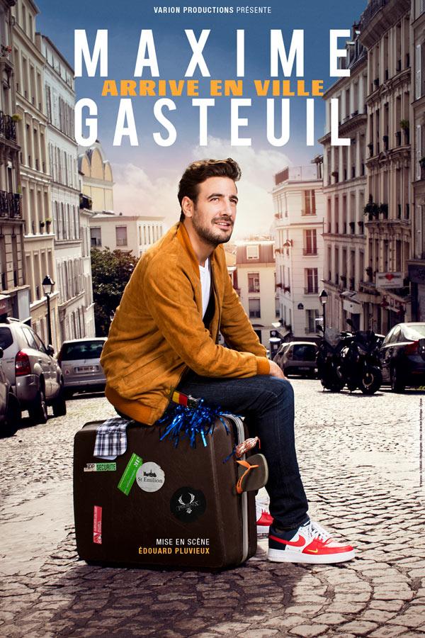 Maxime GASTEUIL arrive en ville à Cita di BORGU
