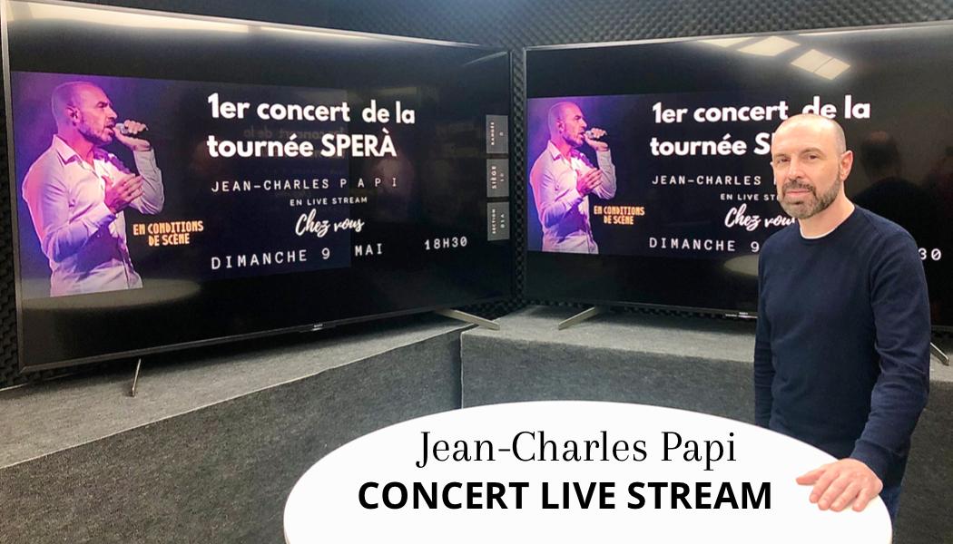 Jean Charles PAPI - Concert Live Stream