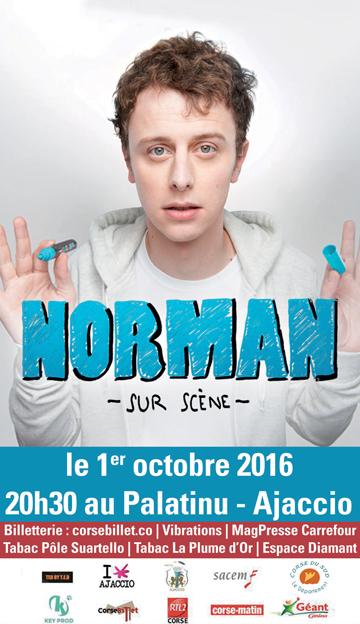 Norman sur scène octobre 2016