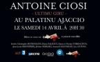"Antoine CIOSI ""L'ultimu giru"""