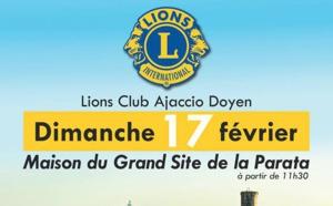 Déjeuner à la parata - au profit du lion's club