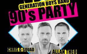 90's party - les boys band en live