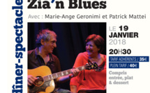 Scenina Diner Spectacle Zia'n Blues