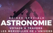 Voyage à travers les merveilles de l'univers juillet 2018