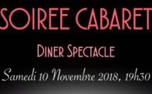 Soirée Cabaret - Dîner Spectacle novembre 2018