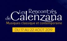 Les Rencontres Musicales de Calenzana 2019