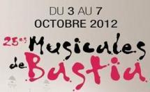 25es MUSICALES DE BASTIA Octobre 2012
