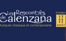 Les Rencontres Musicales de Calenzana 2020