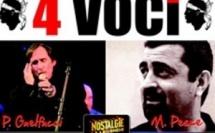 4 Voci, 40 ans de chanson Corse Tournée estivale 2013